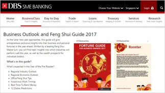 DBS CNY Fortune Guide 2017